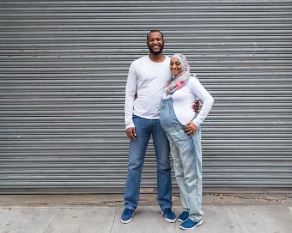 WADAH + ESAR – CHELSEA, LONDON PORTRAIT SHOOT