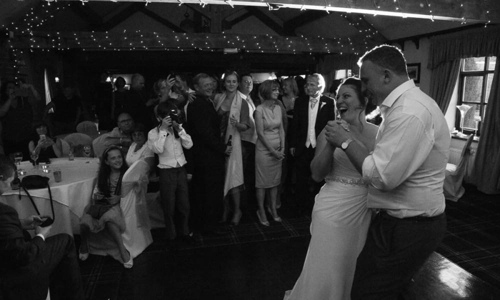 Jennie + Joe's fun filled Staffordshire Wedding at Slaters Country Inn