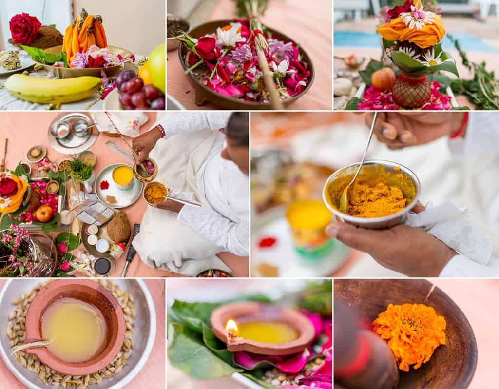 Haldi Ceremony-Details montage