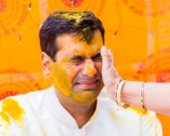 HALDI CEREMONY – LONDON HINDU WEDDING