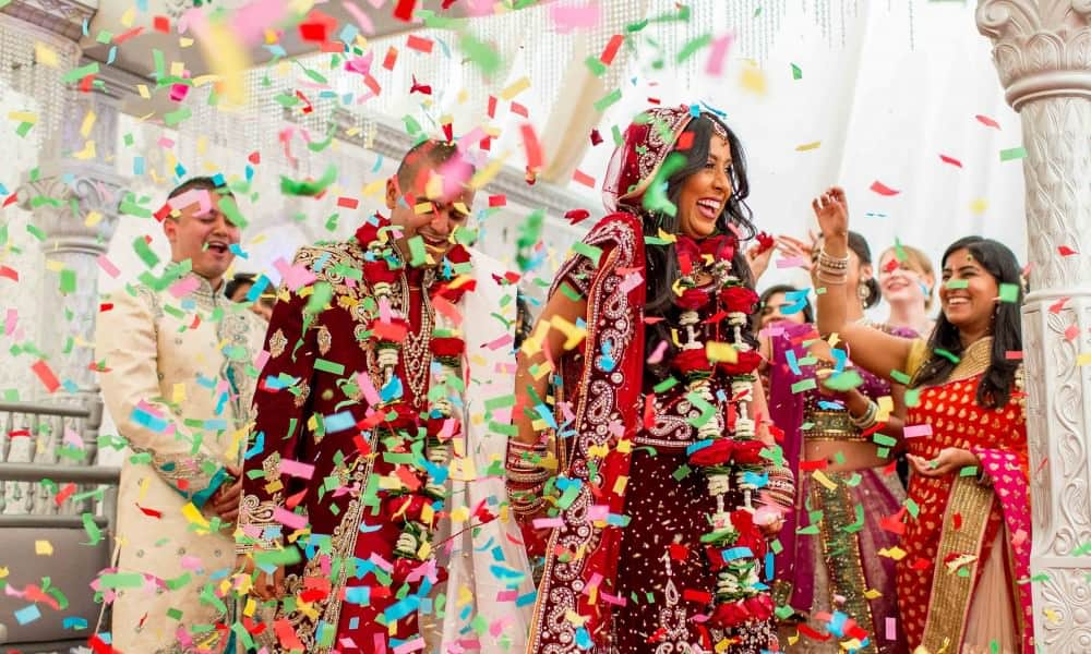 London Hindu Wedding – Shree Swaminarayan Temple