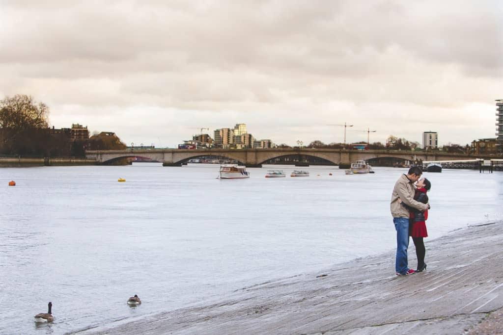 Steve+Mirae - Putney Engagement shoot - London wedding photographer-10