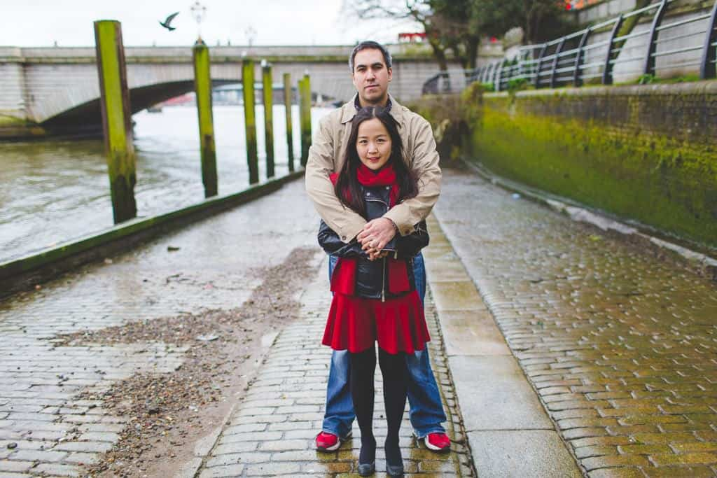 Steve+Mirae - Putney Engagement shoot - London wedding photographer-11