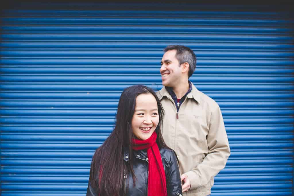 Steve+Mirae - Putney Engagement shoot - London wedding photographer-2