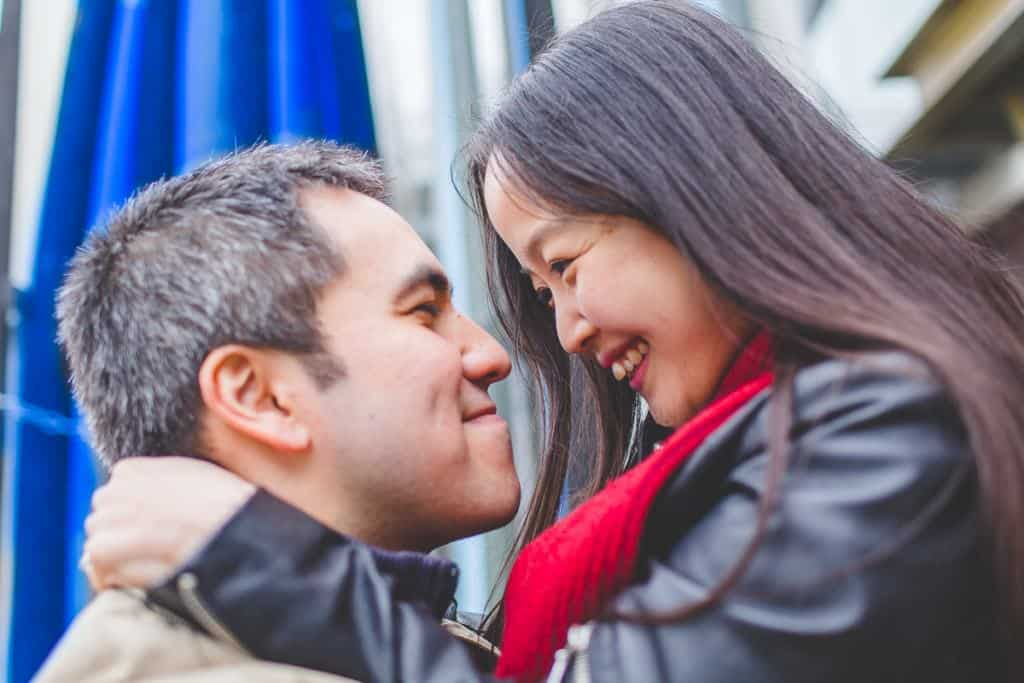 Steve+Mirae - Putney Engagement shoot - London wedding photographer-8