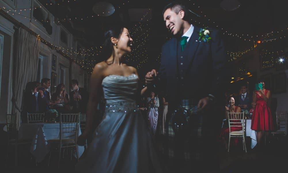 Steve + Mirae's April fools wedding at London Rowing Club