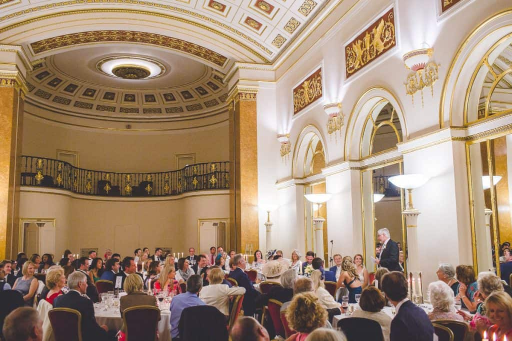 Father of the bride speech at Lansdowne Club